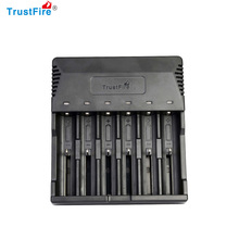 Trustfire TR-012 Universal Digicharger Nitecore Intelligent Battery Charger With 6 Slot for 18650/18350/16340/14500/AA/AAA