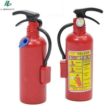 Practical Jokes Toys / Simulation Funny Design Fire Extinguisher Shape Water Gun Novelty Gags toys for birthday gift