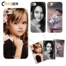 CASEIER DIY Customized Case For iPhone 6 6s 7 Plus 5 5s SE Soft TPU Print Design Logo Photo Cover For Samsung Xiaomi Huawei Case