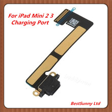 10pcs  Charging Port Flex Cable for iPad Mini 2 & 3  USB Dock Connector Repair  Parts