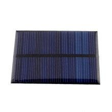 6V 0.6W Solar Power Panel Poly Module DIY Small Cell Charger For Light Battery Phone Portable Solar Panel Bank Drop Shipping