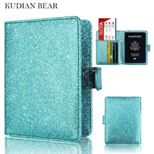 Buy KUDIAN BEAR Passport Cover Rfid Passport Holder Designer Travel Cover Case Documents Credit Card Holder -- BIH056 PM49 for $6.52 in AliExpress store