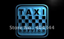 LB976- Taxi Service Cab Display Lure LED Neon Light Sign home decor shop crafts(China)