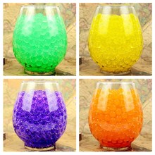 3600 pcs/lot 12 colors Crystal Ball Sea Baby Crystal Mud Soil Water Beads Bio Gel Ball For Flower/Weeding/Decor