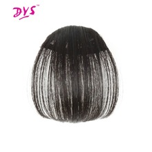 Buy Deyngs Synthetic Bangs Women Short Straight Brown Black Front Neat Hair Bangs Extension Clip Hair Piece Fringe Extensions for $8.48 in AliExpress store