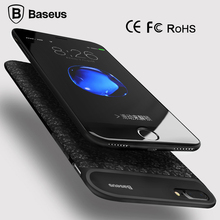 (RU) Baseus Battery Charger Case For iPhone 6 6s 2500/3650mAh External Battery Case Cover Power Bank Case For iPhone 7 / 7 Plus
