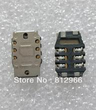 100pcs/lot,SIM card reader holder connector for Blackberry torch 8520 9700 9780 module,free shipping(China)