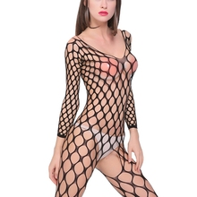 Buy Plus Size Open Bra Open Crotch Women Lace Porno Sexy Lingerie Hot Transparent Babydoll Dress Erotic Costumes Nuisette Sexy