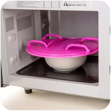 New Multifunctional Microwave Oven Heating Stratified Steamer Tray Shelf Rack Bowls Layered Holder Organizer Tool Kitchen y(China)