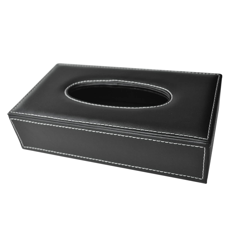 Großhandel Car Home Rechteckig Faux Ledertasche Papier Tissue Box