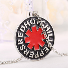 High Quality  Music The Band red  Chil Peppers charm necklace nice christmas gifts Gift Men Women Souvenirs 2016 new arrival