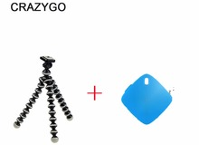 Octopus Universal Tripod Stand Flexible Gorillapod Tripods+ Bluetooth remote control self-timer for phone mini GoPro Camera