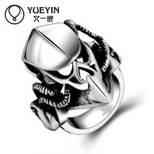 R172-8 Wholesale Eagle Design Finger Ring For Man 361L Stainless Steel Punk Ring Unique Star Celebrity Men Styles Jewelry