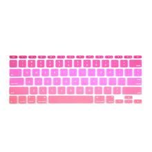"Batianda Air 11 inch US Enter Rainbow Color Silicone Keyboard Cover Stickers Fit For Apple Macbook Air 11 11.6""(China)"
