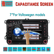 free shipping 2din Car GPS navigation Player for VW  Caddy EOS Golf Jetta Passat tiguan polo golf 5 with DVD BT radio stereo