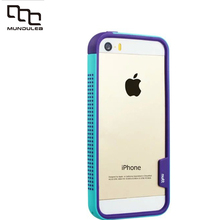 New 5S fashion color dustproof Skid Gradual change Soft Silicone Rubber Protective Back Case Cover For Apple iPhone 5s se