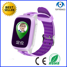 New arrival Waterproof Smart Baby Watch Kids GPS Tracker watch with SOS Anti Lost Location Finder alarm clock For IOS Android(China)