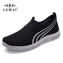 LEMAI 2017 NEW Fashion Men casual shoes, Men's flats Shoes men breathable lovers Casual Shoes size EUR:35-46, 16Color(China)