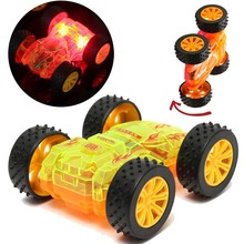 Funny Flashing Led Light Music Car With Sound Electric Toy Cars Kids Toy Childrens Gift Diecast Toy Vehicles(China)