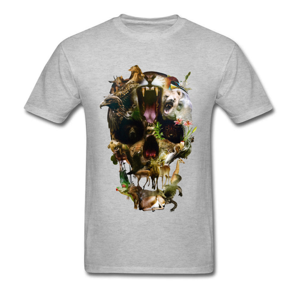 Kingdom Men Discount Summer Tops & Tees O Neck Summer/Autumn 100% Coon Fabric T-Shirt Casual Short Sleeve Tee Shirt Kingdom grey
