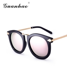 GUANHAO 2017 Fashion Women Brand Polarized Sunglasses Comfortable Lens For Women UV Protection&HD view Designer Hinge Designer