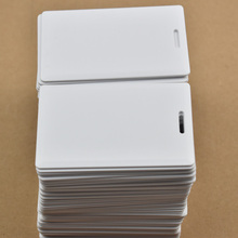 10pcs/lot 125KHz rfid T5577 Thick Card rewritable Access Control System hotel card(China)