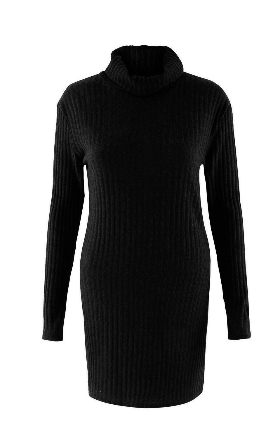 Turtleneck Long knitted pullover sweater, Women's Jumper, Casual Sweater 39