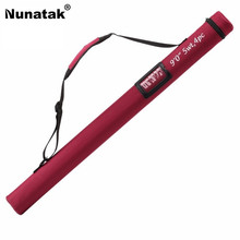 Nunatak Fishing Rod Bags MAXWAY 77cm Fishing Bags Portable Folding Rod Pole Tools for 2.7m 4 Sections Rods Bag(China)