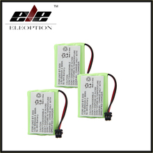 3PCS/lot  Rechargeable Cordless Home Phone Battery for Uniden BT-909 BT909  3*AAA Ni-MH 800mAh 3.6V Free Shipping