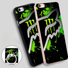 Sports Fox Racing  Soft TPU Silicone Phone Case Cover for iPhone 4 4S 5C 5 SE 5S 6 6S 7 Plus