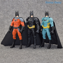 3 colors The Dark Knight Rises Batman 3pcs/set Batman v Superman PVC Action Figure Collectible Model Toy 14cm CSCEB6