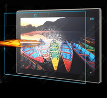 "Tempered Glass Screen Protector Film for Lenovo Tab3 Tab 3 10 Business X70F TB3-X70M X103F 10.1"" Tablet + Dust Stickers"