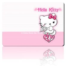 hello kitty mouse pad angel cute mousepad laptop anime mouse pad gear notbook computer gaming mouse pad gamer play mats(China)