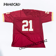 Retro star #21 Sean Taylor Embroidered Throwback Football Jersey(China)