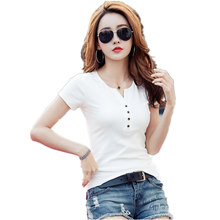 Buy Basic T Shirt Women short Sleeve Womens Tops 2017 Spring Autumn Tee Shirt Women Korean Style T-Shirt Cotton New Plus Size MZ1506 for $6.48 in AliExpress store