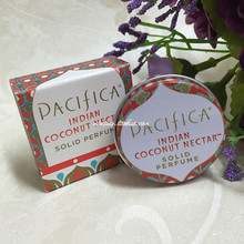 Pacifica solid perfume natural perfume 10g Indian Coconut Nectar 15.74