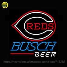 NEON SIGN For Bowling Pool Budweiser Bud Light Cincinnati Reds Fod Automotive Colored Bowling New York Yankees MLB Busch Beer