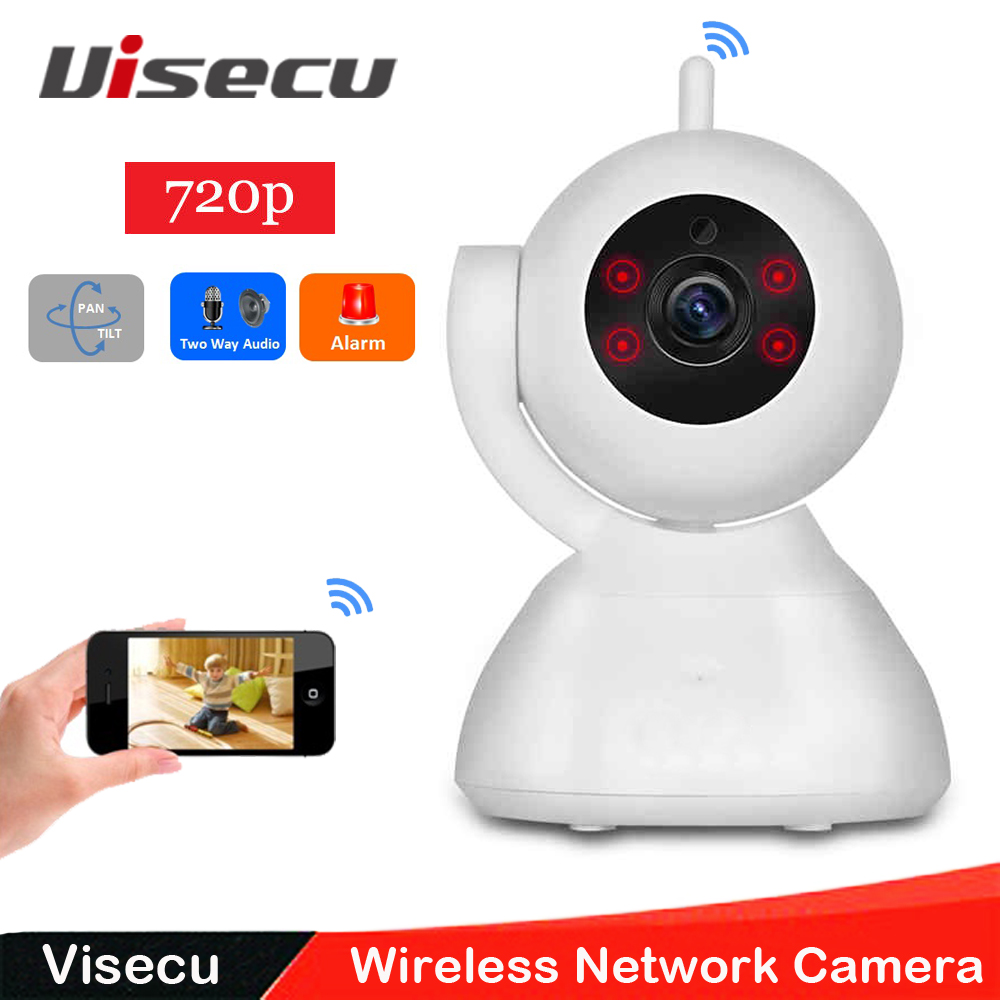 720P P2P Wireless IP Camera 1.0 Megapixel Pan/Tilt  TF Card Record Day Night Vision Wifi Baby Monitor Home Security Camera<br><br>Aliexpress