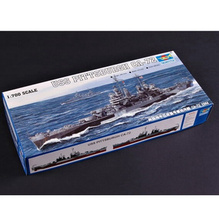 Trumpeter scale model 1/700 scale ship 05726USS PITTSBURGH CA-72 battleship assembly model kits Modle building scale battleship