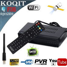 FOB DVB-S2 HD Digital Satellite Receiver IPTV Combo + USB Wifi Antenna Free To Air Support Youtube IKS Cccam Newcam vu Biss Key