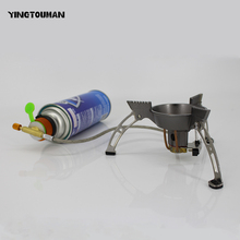 BRS-11 Outdoor Gas Burner Camping Stove Gas Stoves Cooker Windproof Hiking Climbing Picnic Gas Burner Outdoor Stove
