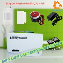 10 Defense Zones Home Alarm System Wireless GSM Alarm System