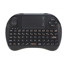 2.4G Mini Wireless Pro Gaming  Keyboard Mouse with Touchpad Joystick Remote Control Handheld for TV Box HTPC Laptop PC
