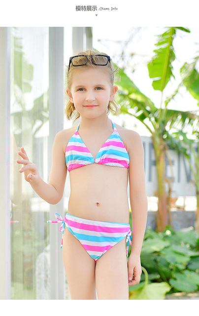 2017 New Children Swimwear Baby Kids Cute S Split Two Pieces Swimsuit Bathing Suit