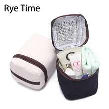 branded small Thermal bag Lunch box Picnic insulated Ice pack Cooler thermal mini bags food fresh storage cool insulation bags