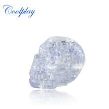 Coolplay Crystal Puzzles Animal Toys 3D Jigsaw Animal Toys Skull Crystal Puzzles Toys For Children Without Original Package