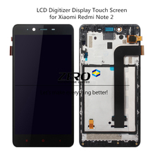 LCD Digitizer Display + Frame for Xiaomi Redmi Note 2 Touch Screen Panel LCD Display Redmi Note 2 Prime Replacement Spare Parts(China)