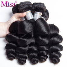 "Mi Lisa Hair Malaysian Loose Wave Weave 100% Human Hair Bundles 1 Piece Only 10""-28"" Natural Remy Hair Extensions Free Shipping"