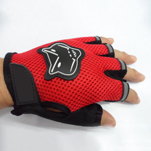 Cycling Gloves Half Finger For Adults Or Children Mountain Bike Sports Gloves Anti-slip Anti-sweat And Breathable