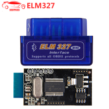 ELM327 V1.5 with PIC18F25K80 chip Bluetooth OBD2 Scan Tool ELM 327 Car Scanner Support J1850 Work on Android / Windows System